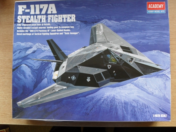 2118 F-117A STEALTH FIGHTER