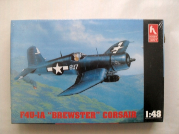 1526 F4U-1A BREWSTER CORSAIR WITH BOMB RACKS