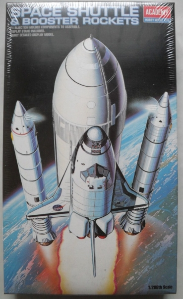 1639 SPACE SHUTTLE   BOOSTER ROCKETS 1/288