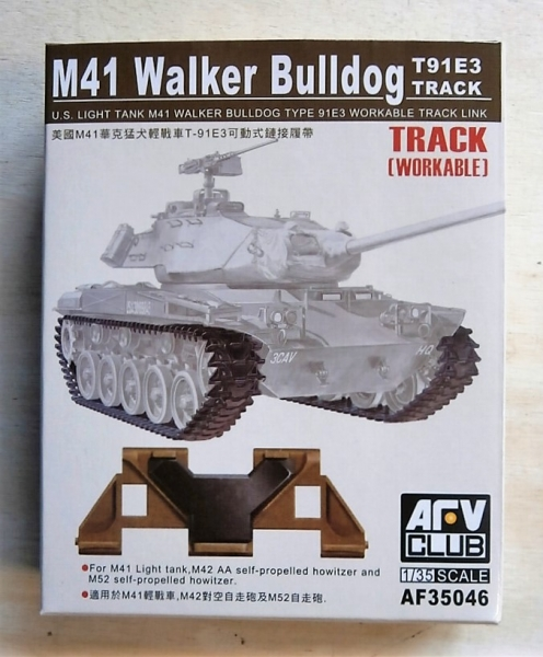 35046 M41 WALKER BULLDOG T91E3 TRACK WORKABLE