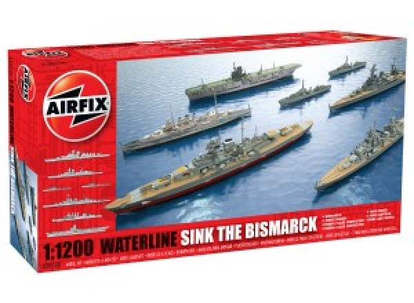 50120 WATERLINE SINK THE BISMARCK