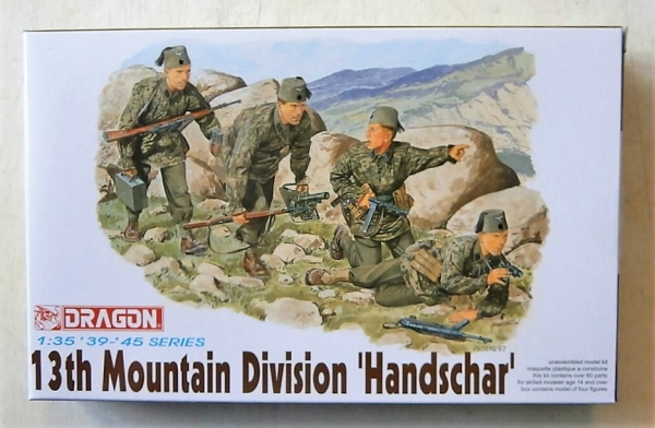 6067 13th MOUNTAIN DIVISION HANDSCHAR