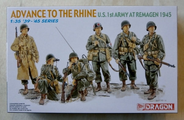 6271 ADVANCE TO RHINE US 1st ARMY AT REMAGEN 1945