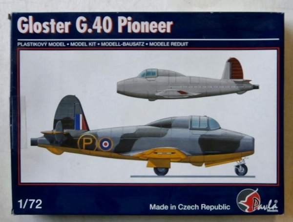 72055 GLOSTER G.40 PIONEER