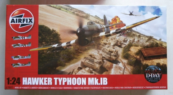 19002 HAWKER TYPHOON Mk.IB  UK SALE ONLY