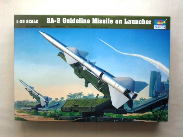 00206 SA-2 GUIDELINE MISSILE w/LAUNCHER