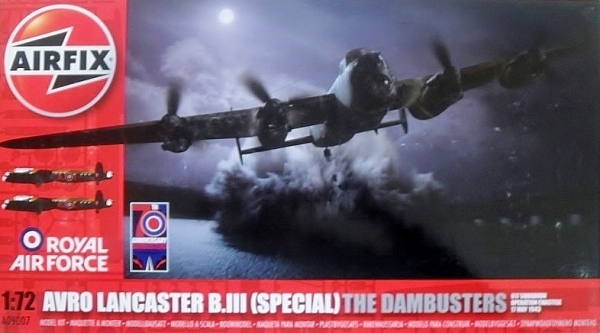 09007 AVRO LANCASTER B.III  SPECIAL  THE DAMBUSTERS