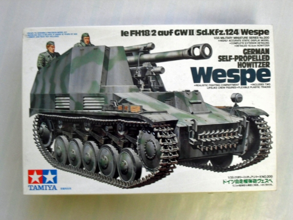 35200 le FH18/2 auf GWII Sd.Kfz.124 WESPE