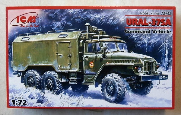 72712 URAL-375A COMMAND VEHICLE