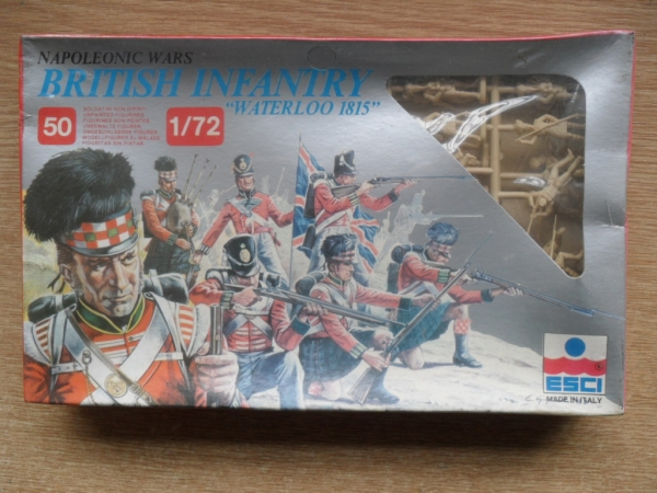215 WATERLOO BRITISH INFANTRY