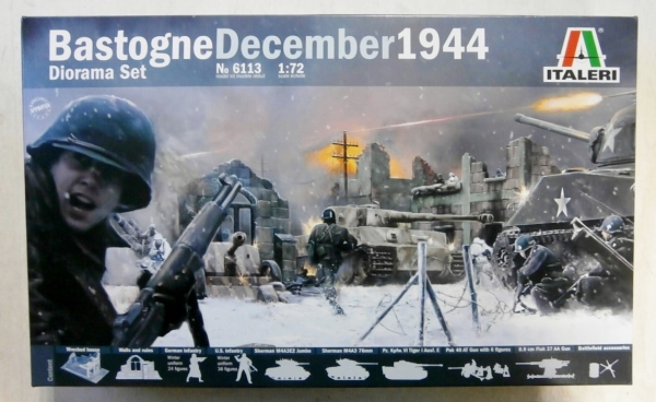 6113 BASTOGNE DECEMBER 1944 DIORAMA SET
