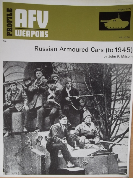 60. RUSSIAN ARMOURED CARS   to 1945