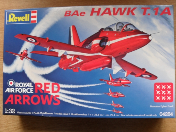 04284 BAE HAWK T.1A RED ARROWS