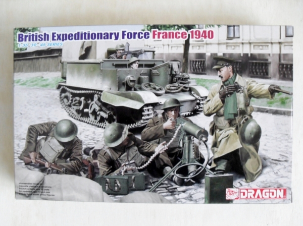 6552 BRITISH EXPEDITIONARY FORCE FRANCE 1940