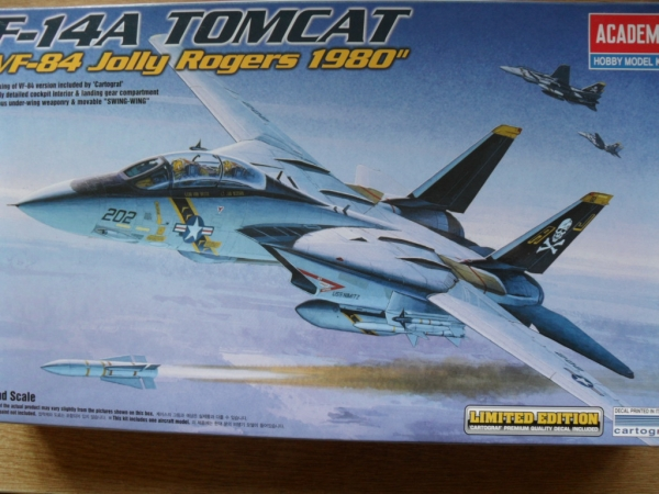 12426 F-14A TOMCAT VF-84 JOLLY ROGERS 1980