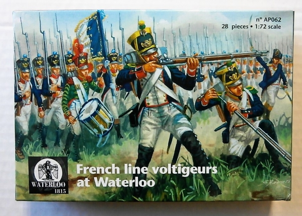 AP062 FRENCH LINE VOLTIGEURS AT WATERLOO