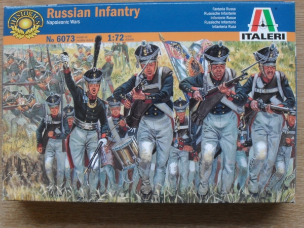 6073 NAPOLEONIC RUSSIAN INFANTRY
