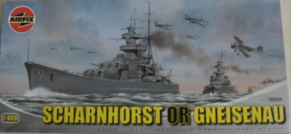 08204 SCHARNHORST or GNEISENAU  UK SALE ONLY