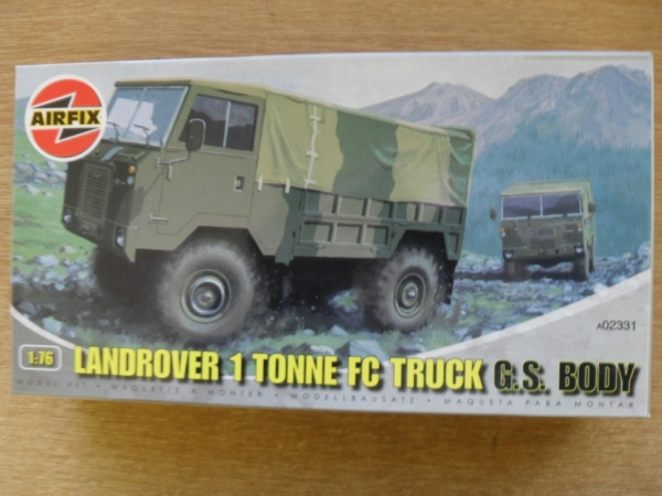 02331 LAND ROVER 1 TONNE FC TRUCK G.S. BODY