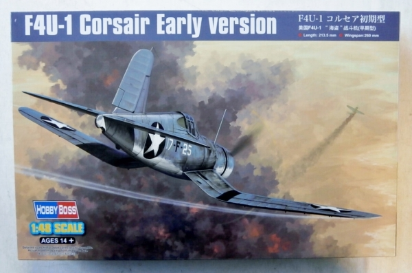 - Hobbyboss 1:48 F4U-1 Corsair Early Version HBB80381