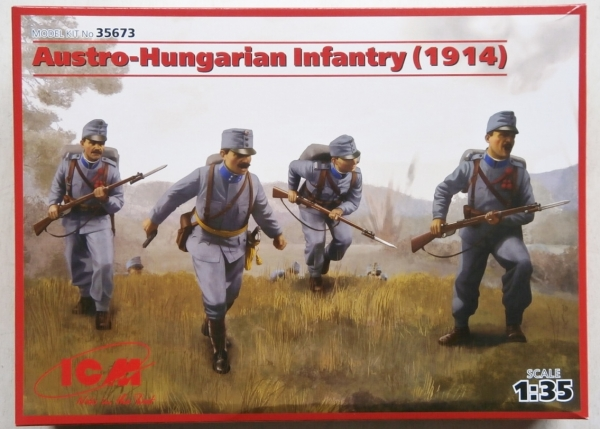35673 AUSTRO-HUNGARIAN INFANTRY  1914