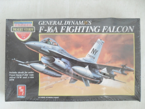 8702 F-16A FIGHTING FALCON DESERT STORM