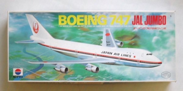 BOEING 747 JAL