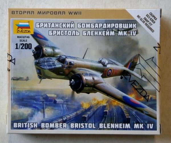ZVEZDA 1/200 6230 BRISTOL BLENHEIM Mk IV