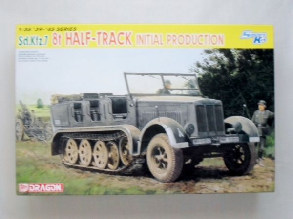6466 Sd.Kfz.7 HALF TRACK INITIAL PRODUCTION