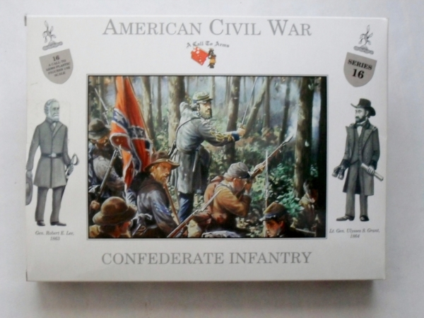 16 CONFEDERATE INFANTRY