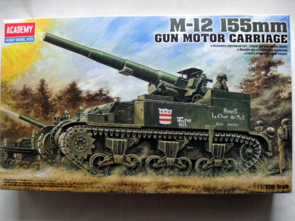 1394 M-12 155mm GUN MOTOR CARRIAGE
