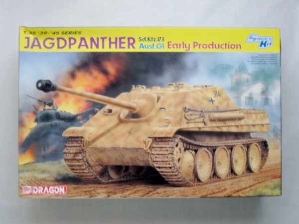 6458 JAGDPANTHER Ausf.G1 EARLY PRODUCTION