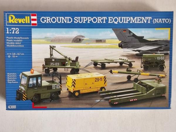 REVELL 1/72 4388 GROUND SUPPORT EQUIPMENT (NATO