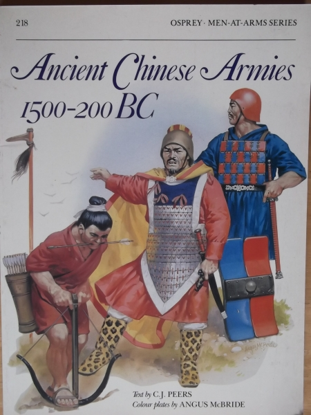 218. ANCIENT CHINESE ARMIES 1500-200 BC