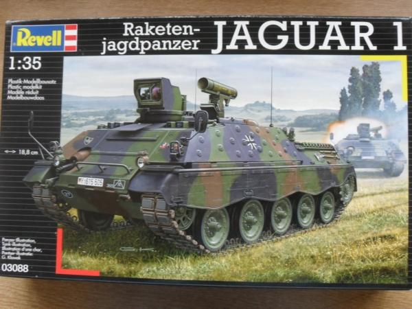 revell 1 35  REVELL 1/35 03088 RAKETEN-JAGDPANZER JAGUAR 1 Military Model Kit