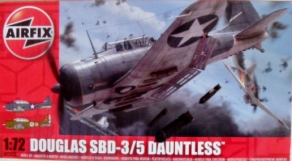 02022 DOUGLAS DAUNTLESS SBD 3/5
