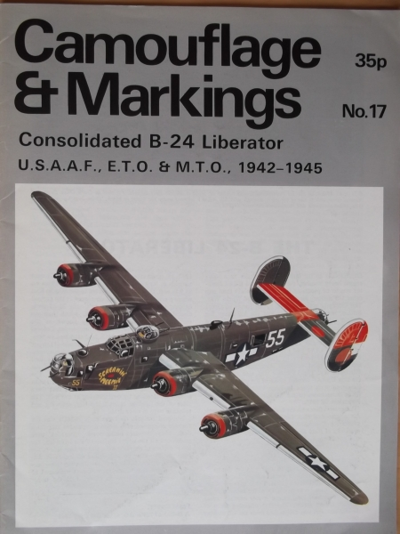 17. CONSOLIDATED B-24 LIBERATOR USAAF ETO   MTO 1942-45