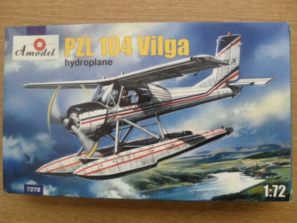 72078 PZL 104 WILGA FLOATS