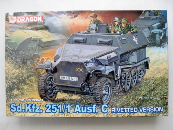 6246 Sd.Kfz.251/1 Ausf.C RIVETTED VERSION
