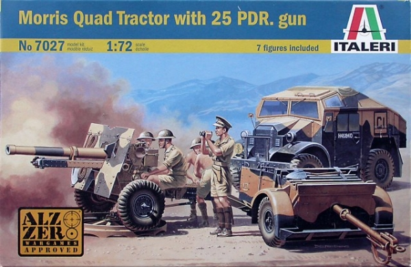 7027 MORRIS QUAD TRACTOR with 25 pdr. GUN