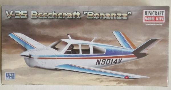 MINICRAFT 1/48 11609 BEECHCRAFT BONANZA V35