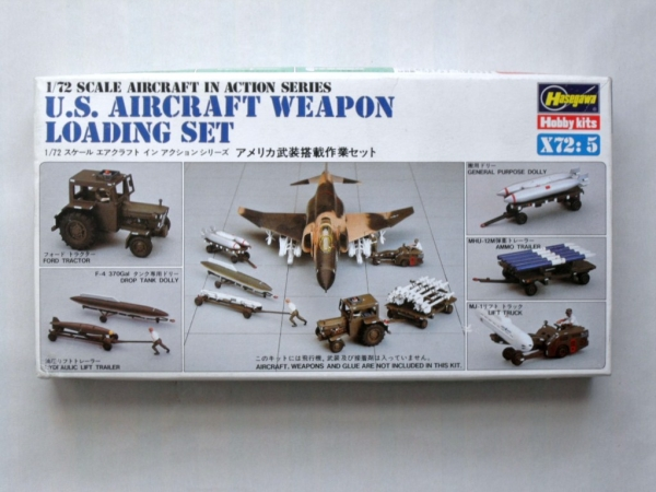 X72-5 US AIRCRAFT WEAPON LOADING SET