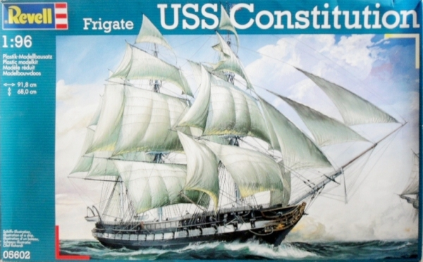 05602 USS CONSTITUTION  UK SALE ONLY