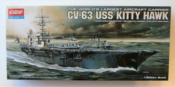 14210 USS KITTY HAWK CV-63