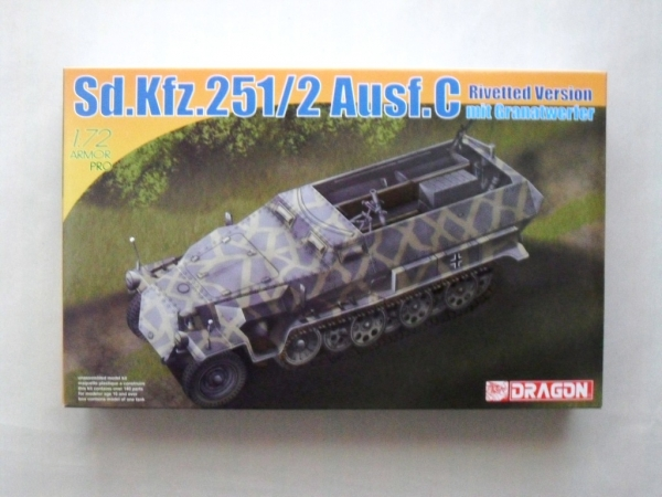 7308 Sd.Kfz 251/2 Ausf.C RIVETTED