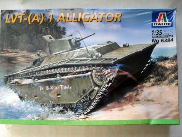 6384 LVT- A  1 ALLIGATOR