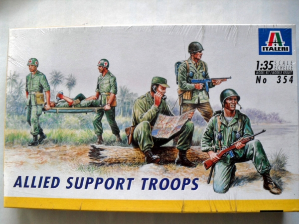 354 ALLIED SUPPORT TROOPS