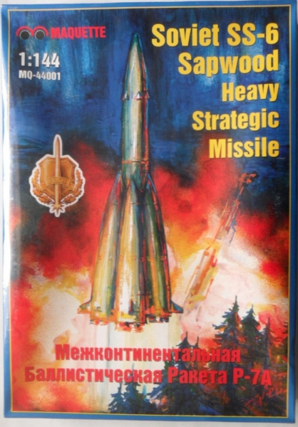 44001 SOVIET SS6 SAPWOOD HEAVY STRATEGIC MISSILE