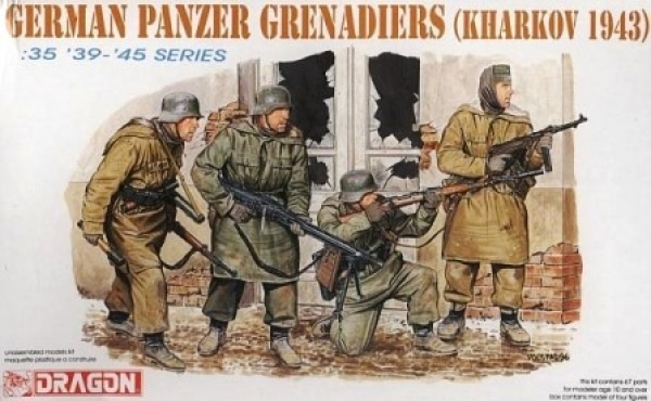 6059 GERMAN PANZERGRENADIERS KHARKOV 1943