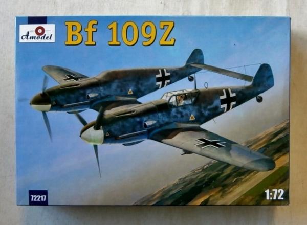 Messerschmitt Bf 109Z - 1/72 kit - Hobbyshop.cz